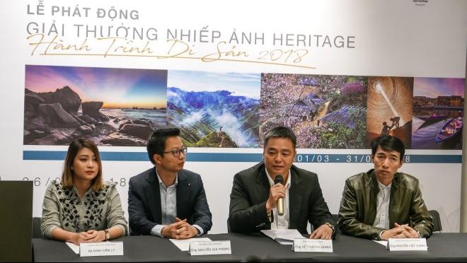 Phát động giải thưởng nhiếp ảnh Heritage 'Hành trình Di sản 2018'