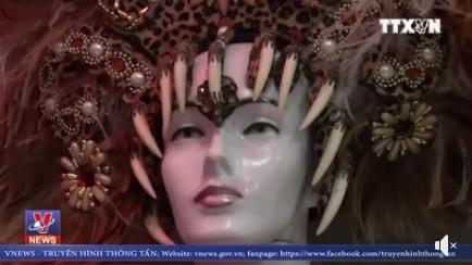 VIDEO: Lễ hội hóa trang đường phố lớn nhất thế giới Carnival đã sẵn sàng
