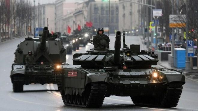 Bộ Quốc phòng Nga sẽ 'sắm' 200 xe tăng mỗi năm