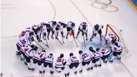 Olympic Channel làm phim về đội khúc côn cầu nữ của Triều Tiên & Hàn Quốc