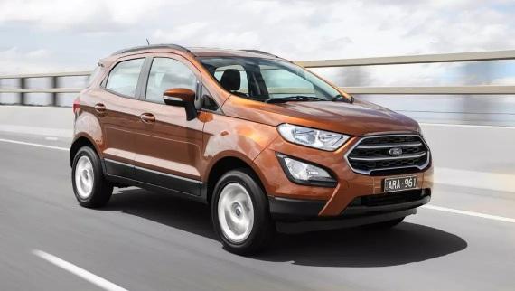 Ford EcoSport 2018 có giá mới đa dạng hơn
