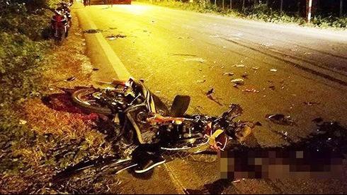 Tai nạn xe container khiến 3 người chết và 2 người bị thương