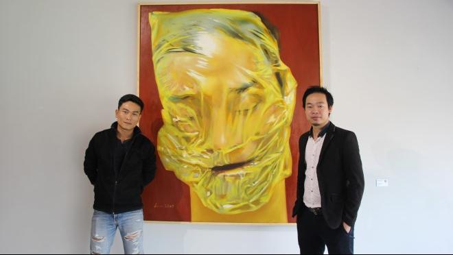 Họa sĩ Nguyễn Công Hoài và 18 bức tranh chân dung