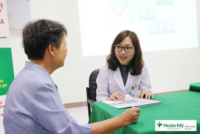 Bệnh viện Đa khoa Hoàn Mỹ Cửu Long tổ chức Câu Lạc Bộ Gan Khỏe
