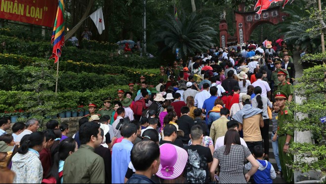 Giỗ Tổ Hùng Vương - Lễ hội Đền Hùng 2018 đảm bảo không 'chặt chém', không ăn xin