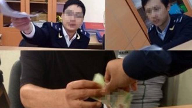 12 năm tù cho cán bộ hải quan nhận hối lộ hơn 500 triệu đồng
