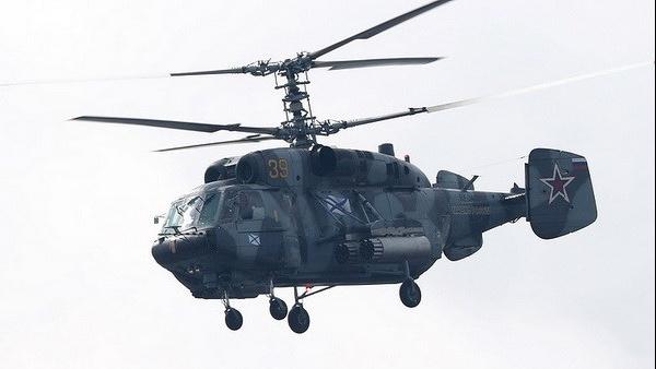Trực thăng quân sự Nga rơi trên biển Baltic, hai phi công thiệt mạng