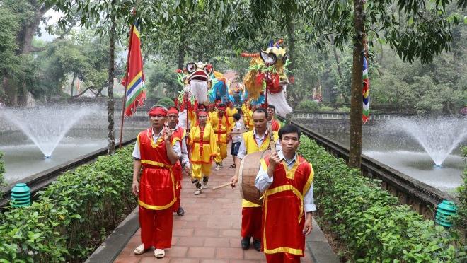 Nghi lễ linh thiêng kỷ niệm 1050 năm Nhà nước Đại Cồ Việt tại Cố đô Hoa Lư