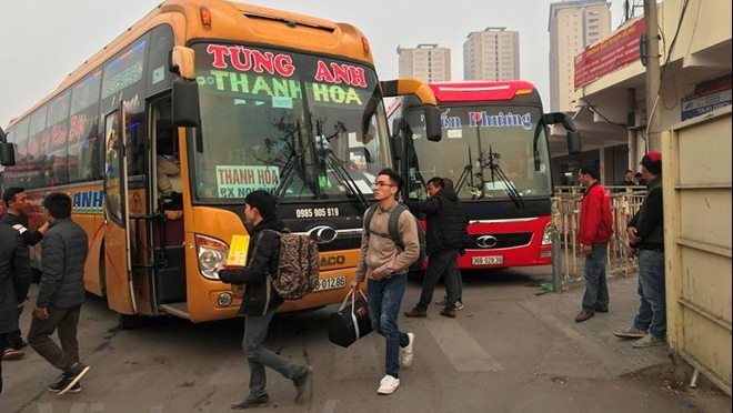 Bốn bến xe lớn nhất Hà Nội sẽ được chuyển thành bãi đỗ xe