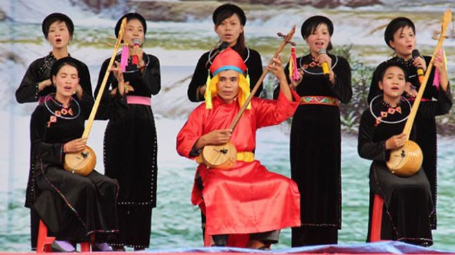 Liên hoan hát Then đàn Tính năm 2018 sẽ kết hợp với chợ tình Khâu Vai