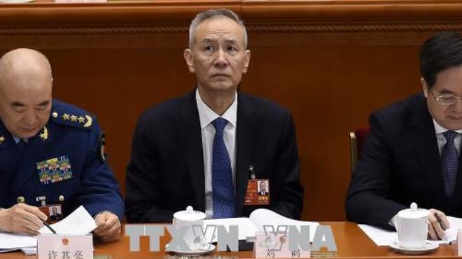 Phó Thủ tướng Trung Quốc Lưu Hạc tới Mỹ giải quyết các bất đồng thương mại