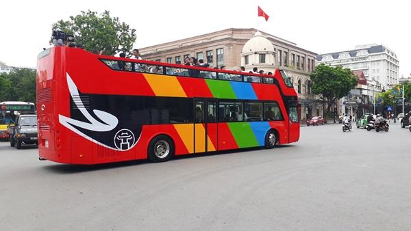Chính thức vận hành xe buýt 2 tầng City Tour tham quan Hà Nội vào cuối tháng 5
