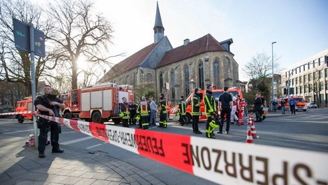 Đức: Tấn công bằng dao tại nhà ga Flensburg làm 1 người chết
