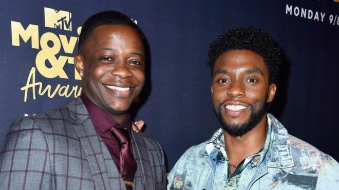 Lễ trao giải MTV Movie & TV: 'Chiến binh Báo đen' tặng cúp cho chiến binh ngoài đời