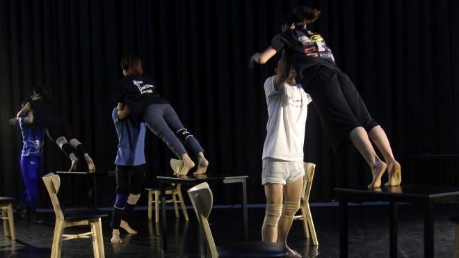 Biểu diễn múa đương đại 'Café Sài Gòn'
