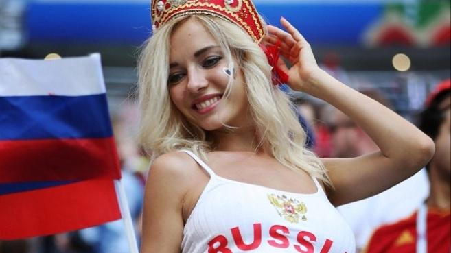 'Đẹp như người con gái nước Nga'
