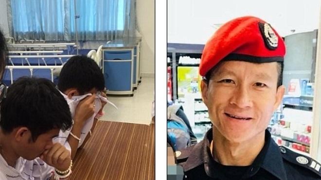 Đội bóng thiếu niên Thái Lan tưởng niệm thợ lặn thiệt mạng trong chiến dịch giải cứu Tham Luang