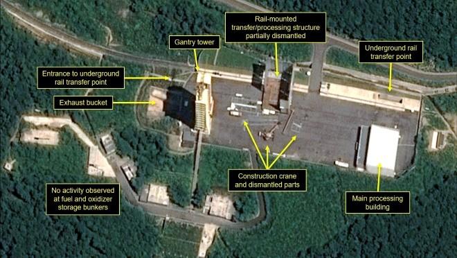 Trang 38 North: Triều Tiên bắt đầu tháo dỡ bãi thử tên lửa