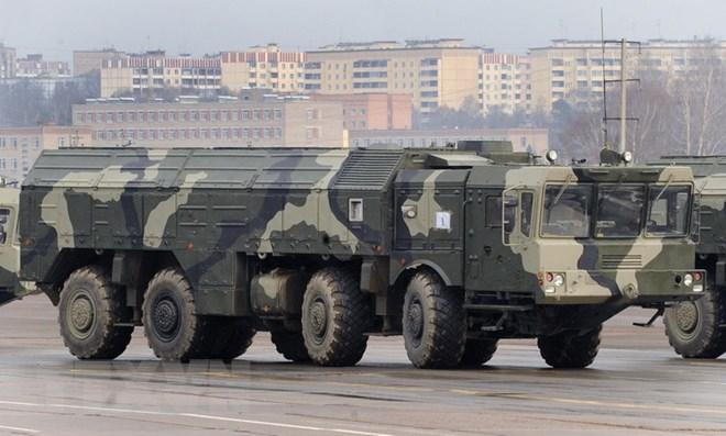 Tên lửa Iskander-M của Nga được trang bị đầu đạn thế hệ mới