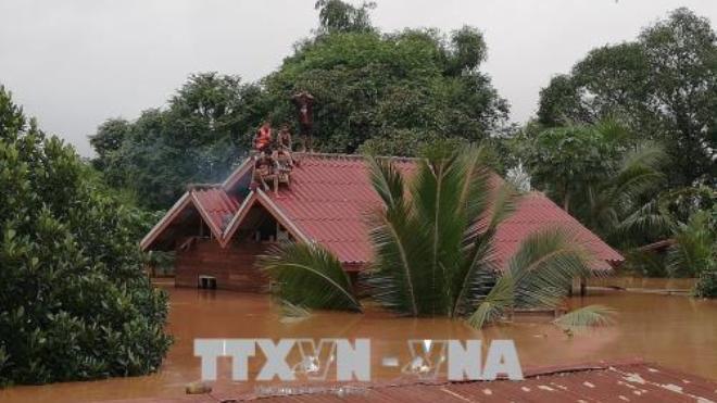 Vỡ đập thủy điện tại Lào: Tạm thời cấm các hoạt động tại thủy điện Xepian-Xenamnoy