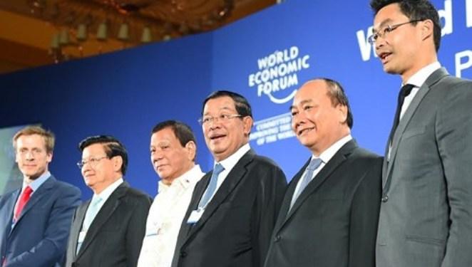 Việt Nam đón các nguyên thủ quốc gia tham dự Diễn đàn kinh tế thế giới về ASEAN