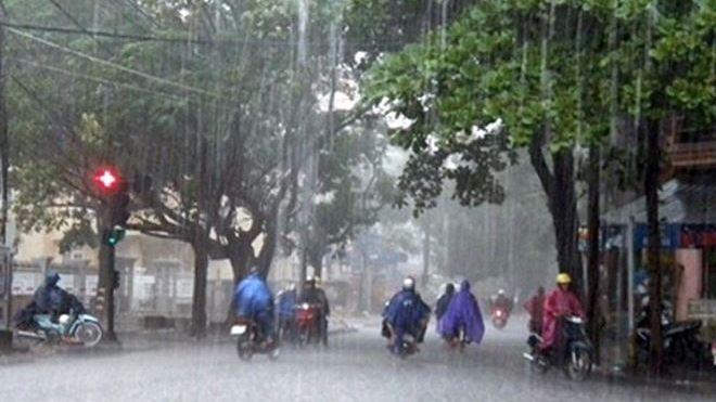 Thời tiết hôm nay: Áp thấp nhiệt đới mạnh cấp 6, cả nước mưa dông