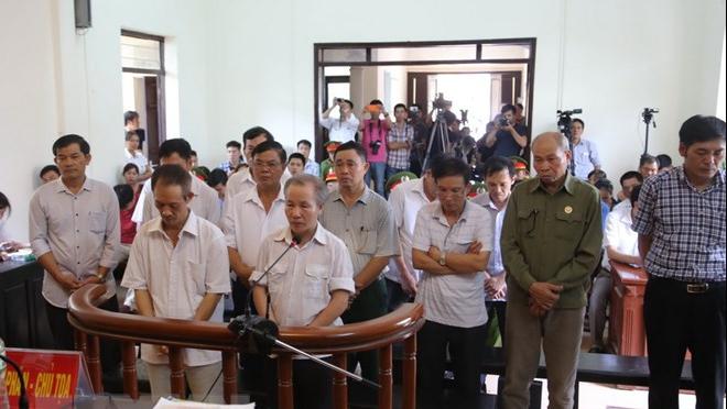 Hoãn phiên tòa xét xử phúc thẩm vụ vi phạm trong quản lý đất đai ở Đồng Tâm, Hà Nội