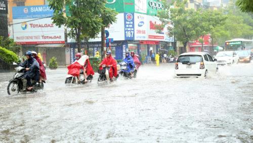 Từ đêm 15/8, bão số 4 gây mưa to đến rất to ở Bắc Bộ và Bắc Trung Bộ