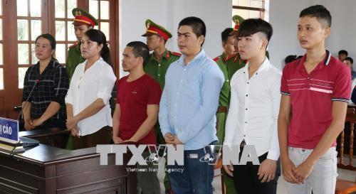 Án phạt nghiêm khắc đối với 6 bị cáo gây rối trật tự công cộng tại Ninh Thuận
