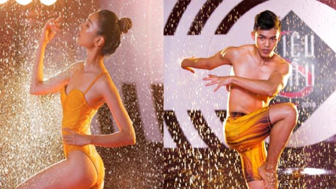 Siêu mẫu Việt Nam 2018: Thí sinh trượt chân té, vật lộn với mưa chụp ảnh bikini