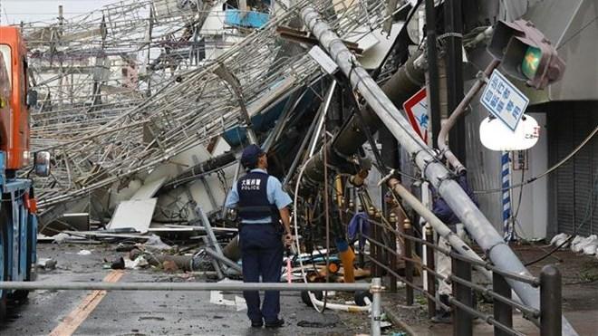 Nhật Bản: Bão Jebi tàn phá khủng khiếp, gần 170 người thương vong
