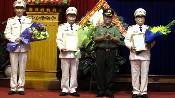 Bộ Công an bổ nhiệm 3 Phó Giám đốc Công an Hải Phòng