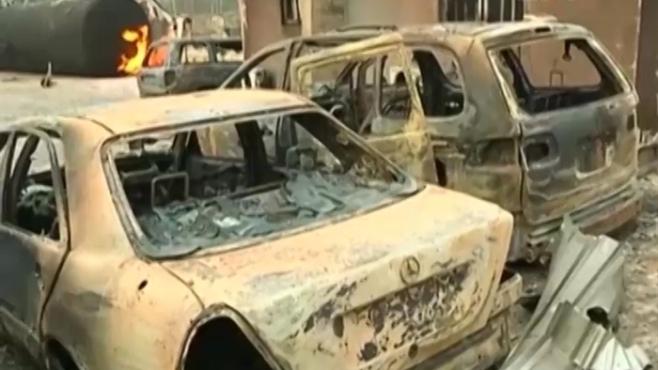 Nổ khí gas ở Nigeria, 35 người chết, hàng trăm người bị thương