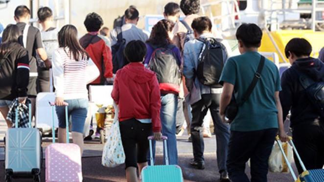 Hàng triệu người Hàn Quốc về quê đón Tết Trung thu
