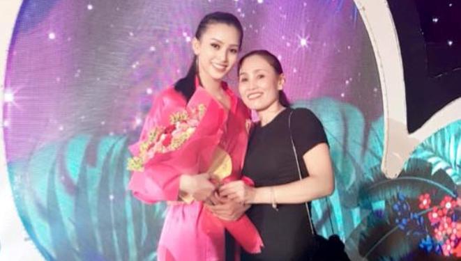 Mẹ Tân Hoa hậu Trần Tiểu Vy nói gì về con gái sau khi đăng quang?