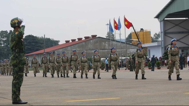 Lễ xuất quân Việt Nam tham gia lực lượng gìn giữ hòa bình Liên hợp quốc tại Nam Sudan