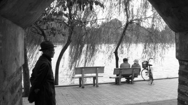 CHÙM ẢNH: Những khoảnh khắc 'gây thương nhớ' về mùa Đông Hà Nội