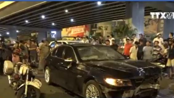 Thông tin mới về vụ tai nạn liên hoàn tại ngã tư Hàng Xanh