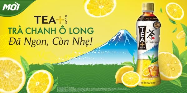 Ra mắt sản phẩm Trà chanh Ô long TEA+ tại Việt Nam