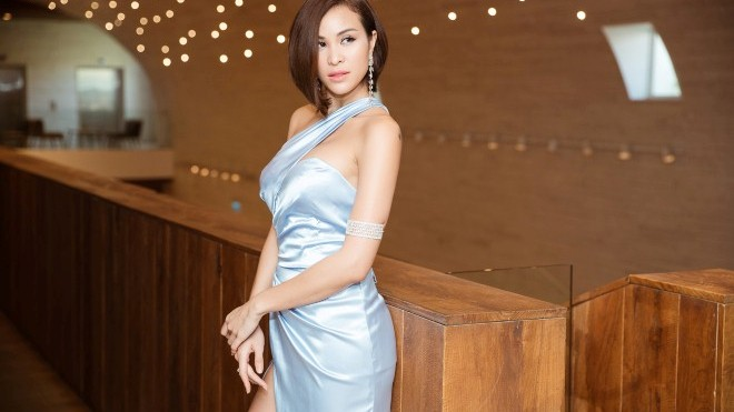 Siêu mẫu Phương Mai tuyên bố 'vẫn yêu thích cuộc sống độc thân'