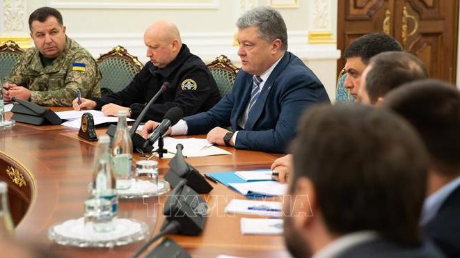 Quốc hội Ukraine thông qua đề xuất áp đặt thiết quân luật biên giới