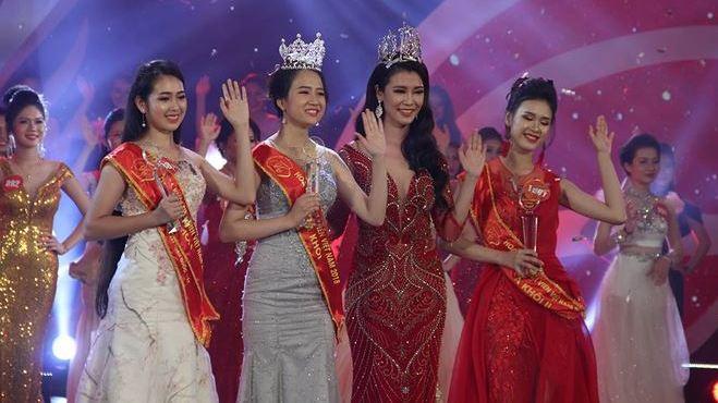 Nguyễn Thị Phương Lan giành danh hiệu Hoa khôi Sinh viên Việt Nam năm 2018