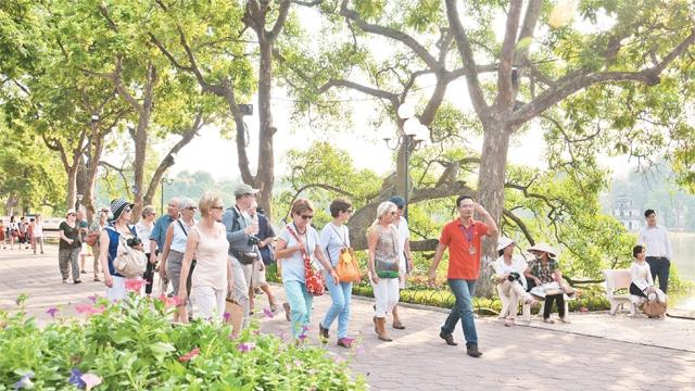 Du lịch Hà Nội 'về đích' trước 2 năm trong thực hiện chỉ tiêu đón khách quốc tế