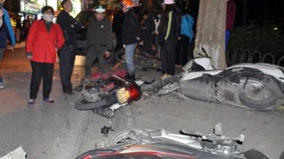 Vụ ô tô gây tai nạn liên hoàn trên phố Trích Sài, Hà Nội: Nữ tài xế có nồng độ cồn cao