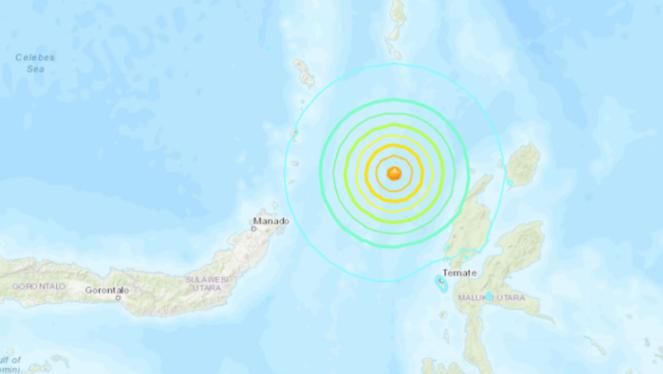 Động đất mạnh 6,6 độ tại Indonesia