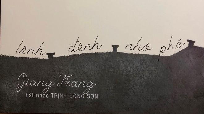 Giang Trang tạo 'khoảng trống' với đĩa than 'Lênh đênh nhớ phố'