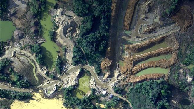 Peru huy động quân đội và cảnh sát chống khai thác mỏ trái phép tại rừng Amazon