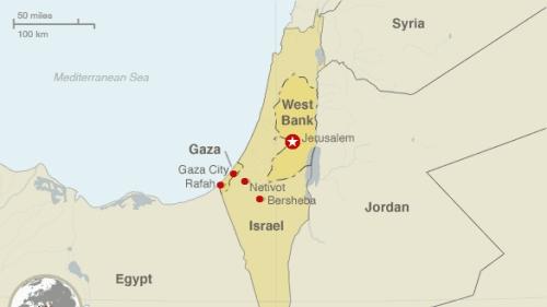 Israel không kích Gaza đáp trả vụ bắn rocket vào Tel Aviv