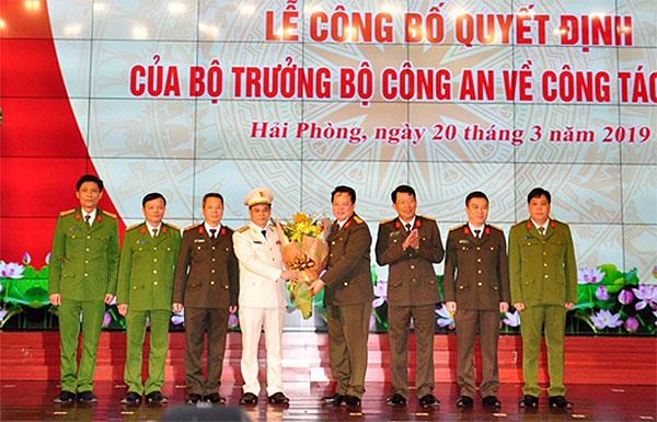 Đại tá Lê Ngọc Châu, Đại tá Lê Ngọc Châu là ai, Giám đốc công an hải phòng, tân Giám đốc công an hải phòng, công an hải phòng