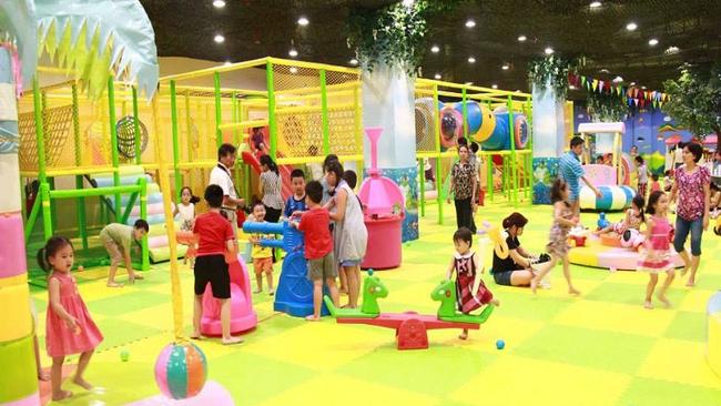 Hà Nội thiếu khu vui chơi an toàn cho trẻ em tại các khu nhà cao tầng
